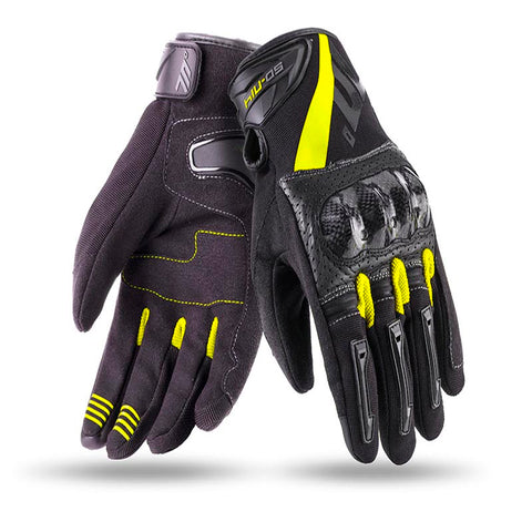Guantes SEVENTY DEGREES SD-N14 SUMMER NAKED MAN BLACK / YELLOW
