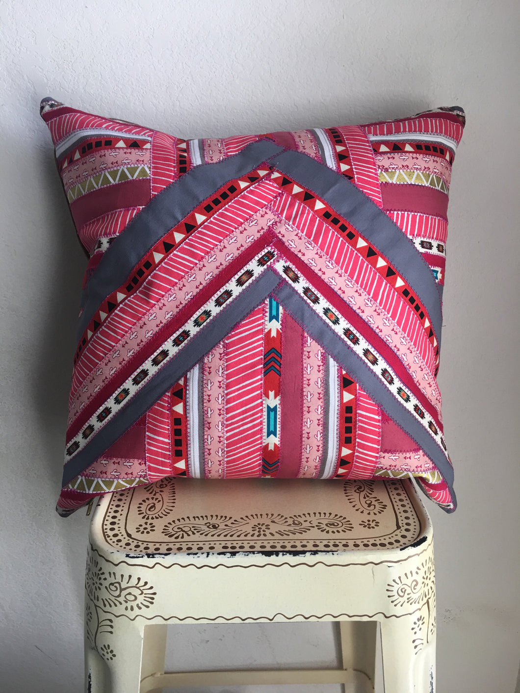'Pink Desert Dream' Pillow