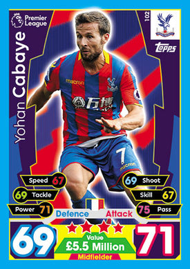 Crystal Palace Base Cards