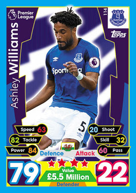 Everton Base Cards