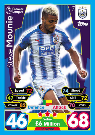 Huddersfield Town Base Cards