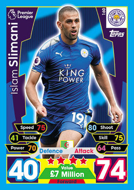 Leicester City Base Cards
