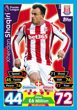 Stoke City Base Cards