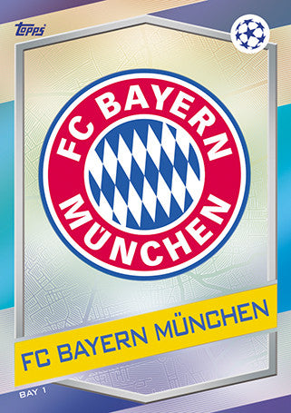 Bayern Munich Base Cards