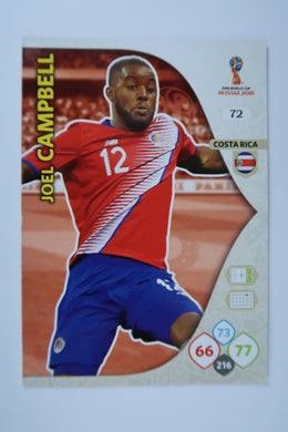 Costa Rica Base Cards