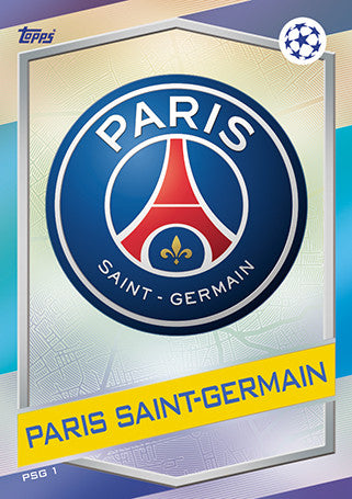 Paris Saint-Germain Base Cards