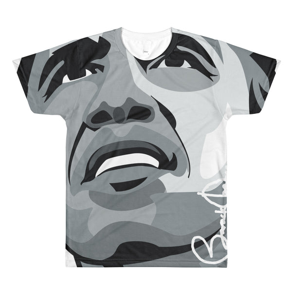 Barack Obama All Over Print Sublimation men's crewneck t-shirt