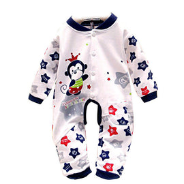 baby clothes 2016 baby rompers	Cotton Infant Jumpsuit Kids Boy Girl Infant baby romper suits overalls best love bebes