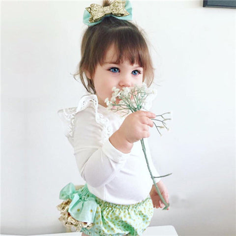 Cute Baby Lace Girl Girls Full Sleeve Overalls Warm With Long Sleeve Barboteuse Infant Cotton Overalls Sliders Kid Girl SR188