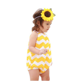 Summer One Pieces Baby Rompers Infant Jumpsuit Sleeveless Clothing Toddler Girl Cotton Overall