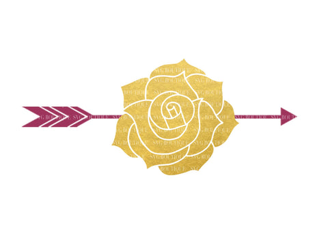 Tribal Rose SVG