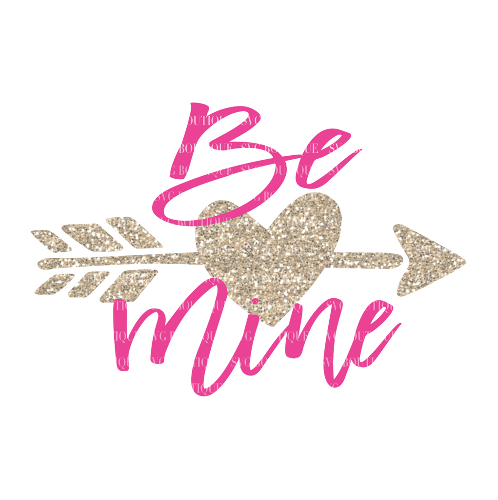 Be Mine Free Valentine's Day SVG File
