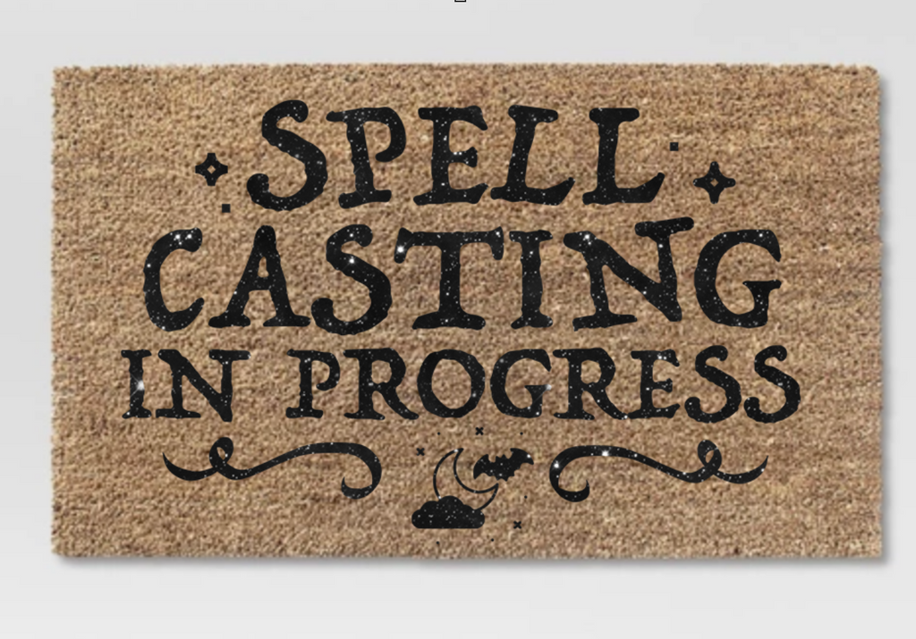 Spell Casting In Progress - SVG File Silhouette and Cricut Cutting Machines