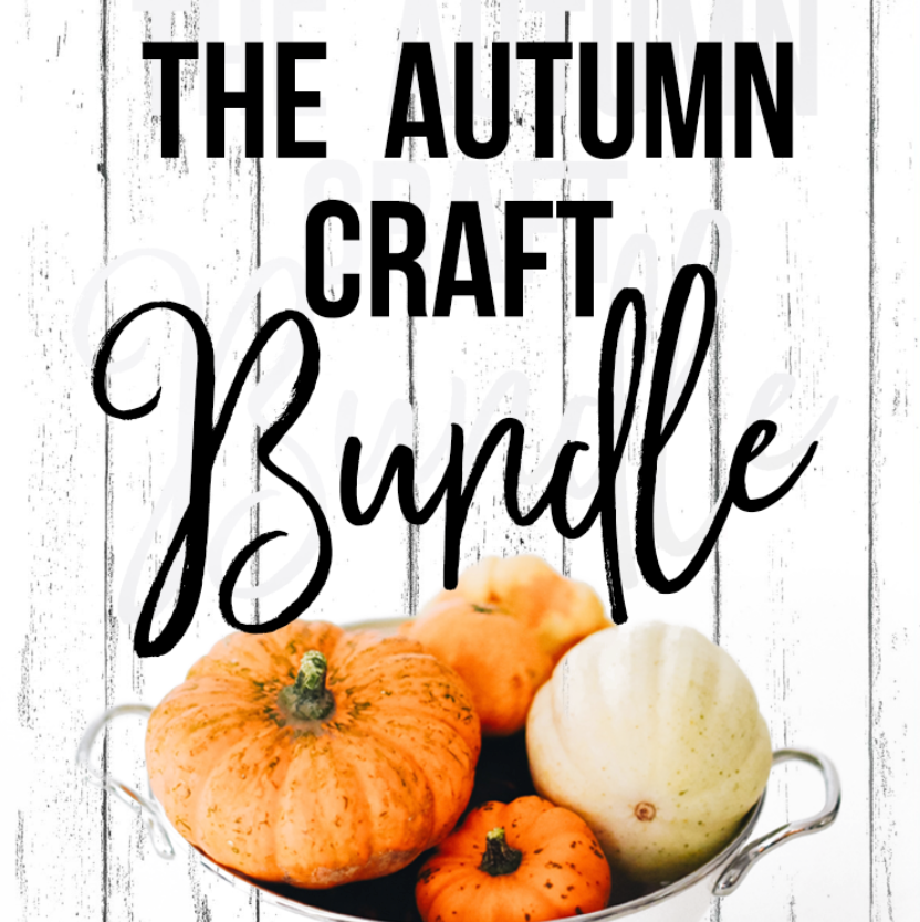 The Fall and Halloween Craft Bundle- SVG File Silhouette and Cricut Cutting Machines