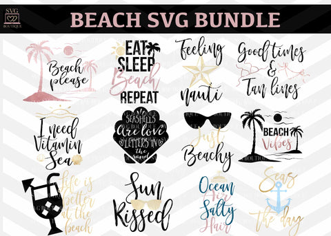 Beach SVG Bundle