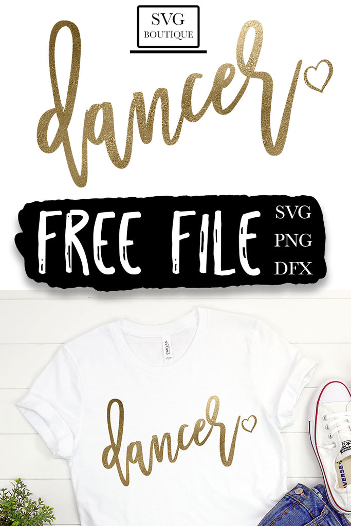 Free Dancer SVG File