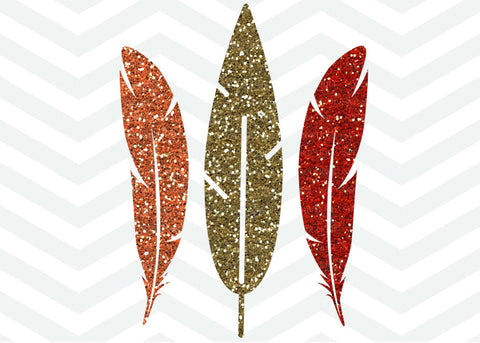 Fall Feathers SVG File
