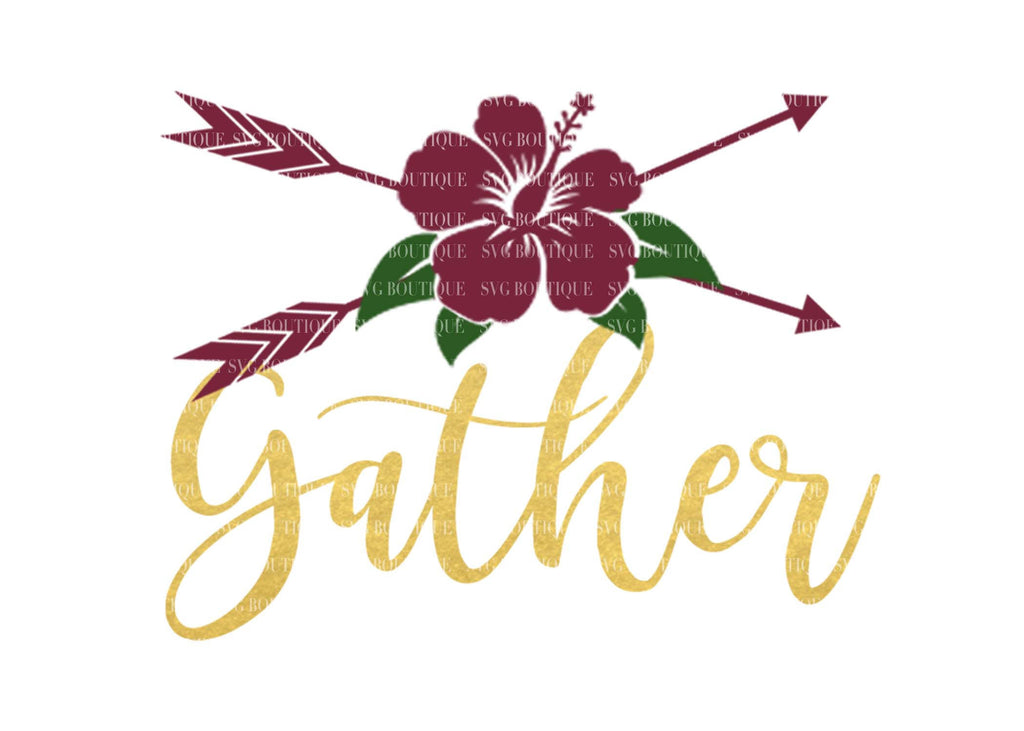 Gather SVG File