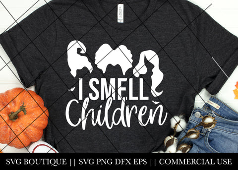 I Smell Children - SVG File Silhouette and Cricut Cutting Machines