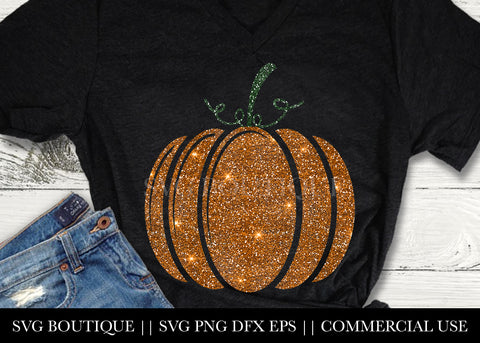 Pumpkin SVG File Silhouette and Cricut Cutting Machines
