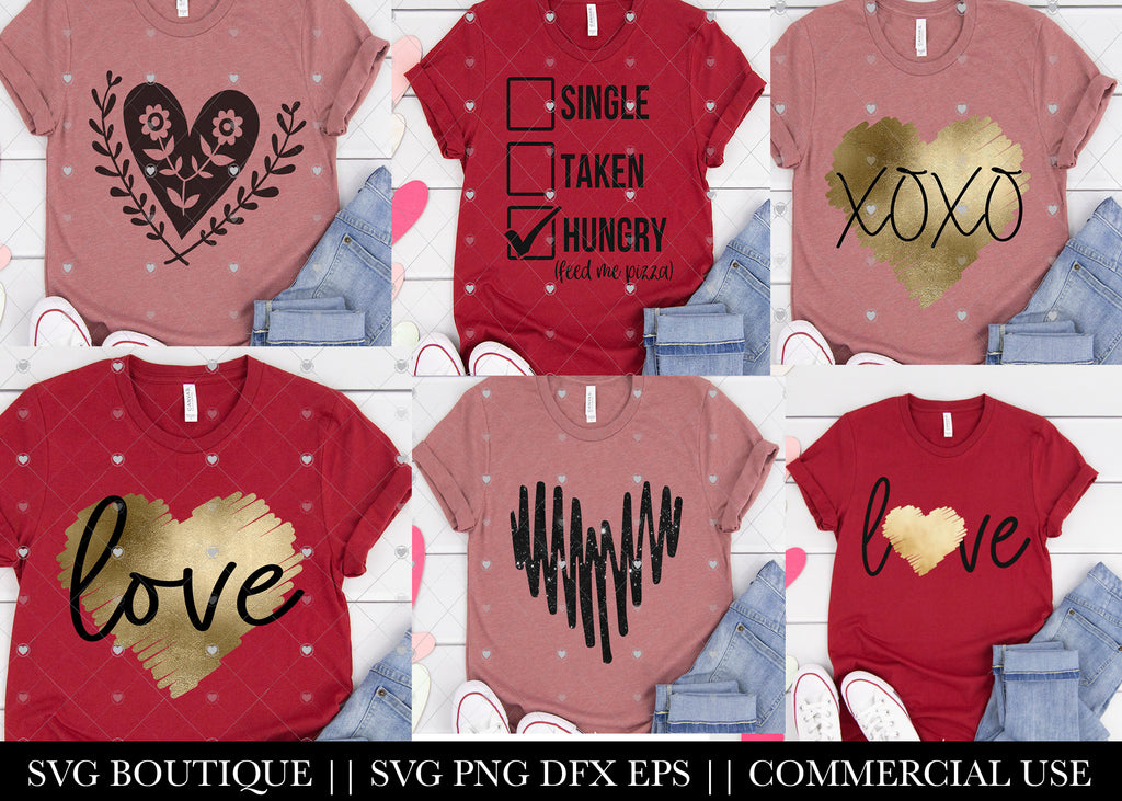 Valentine Day SVG Bundle