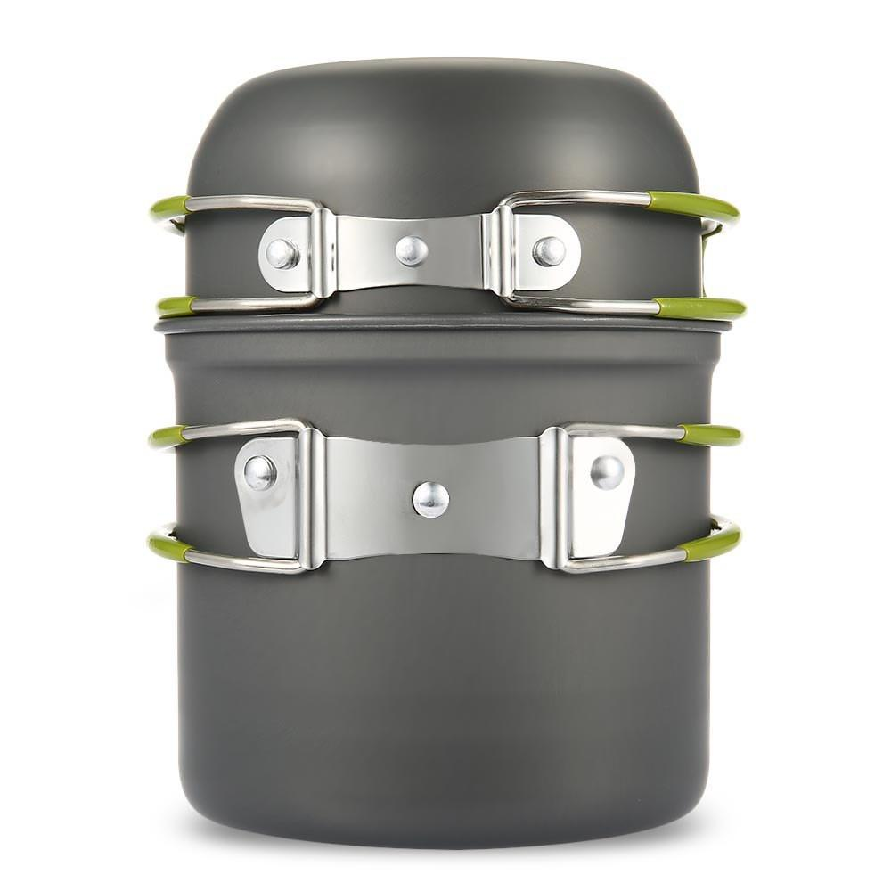 Pot and Pan Camping Cookware Set