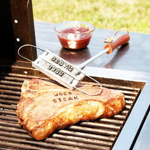Steak / Barbecue Branding Iron- 55 Changeable Letters