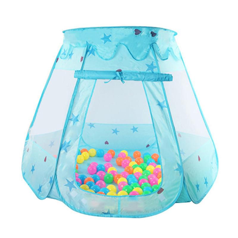 Princess Ball Pit Tent- Blue or Pink (balls sold separately)
