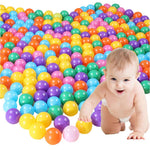 Colorful Soft Plastic Balls for Ball Pit, 100 ball lot