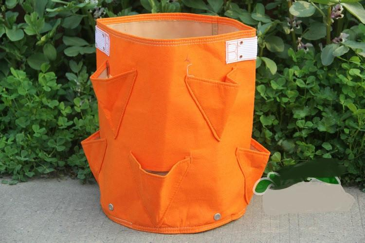 Large Capacity Strawberry Planter Bag- 8 Pockets