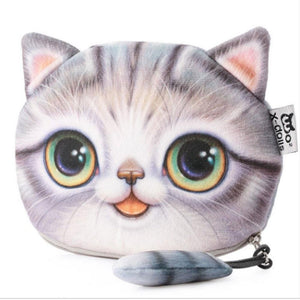 Cute Kawaii Kitty Coin Purse