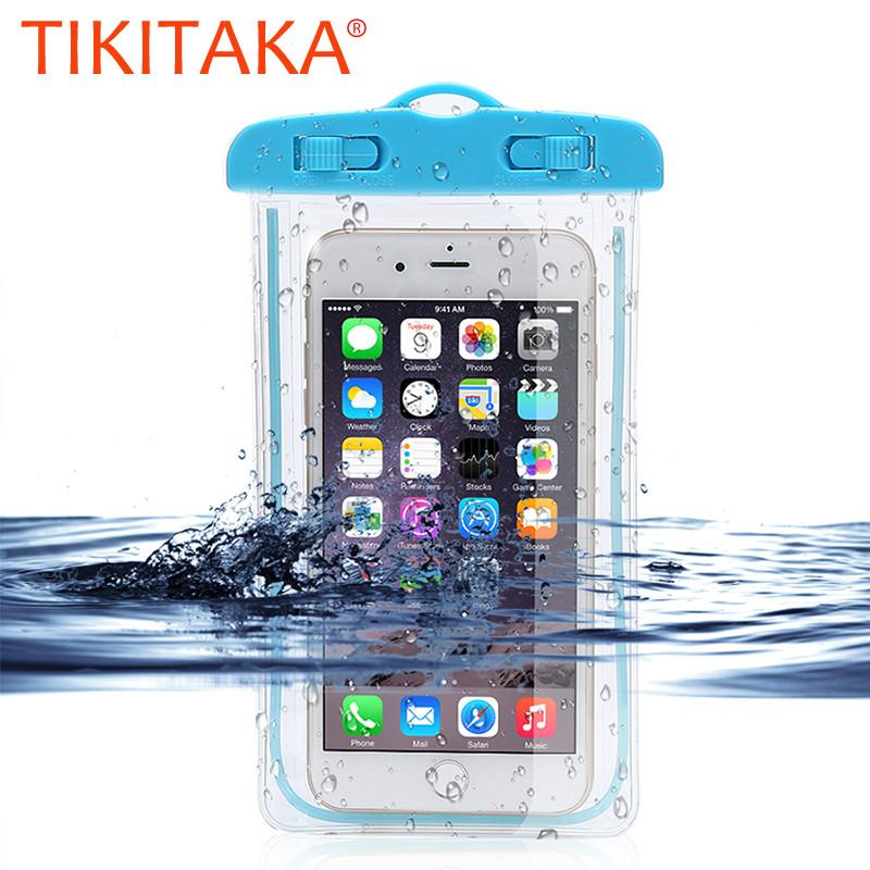 Waterproof Bag Case For iPhone 5 6 7 8 and Samsung