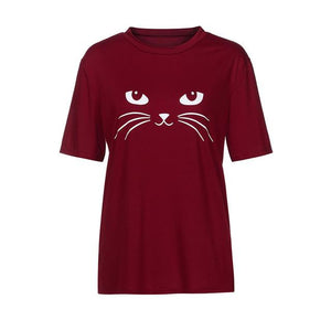 Black Cat T-Shirt- 4 Colors to choose from!