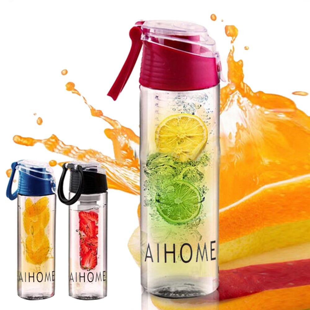 Fruit Infusing Water Bottle with Carbon Filter