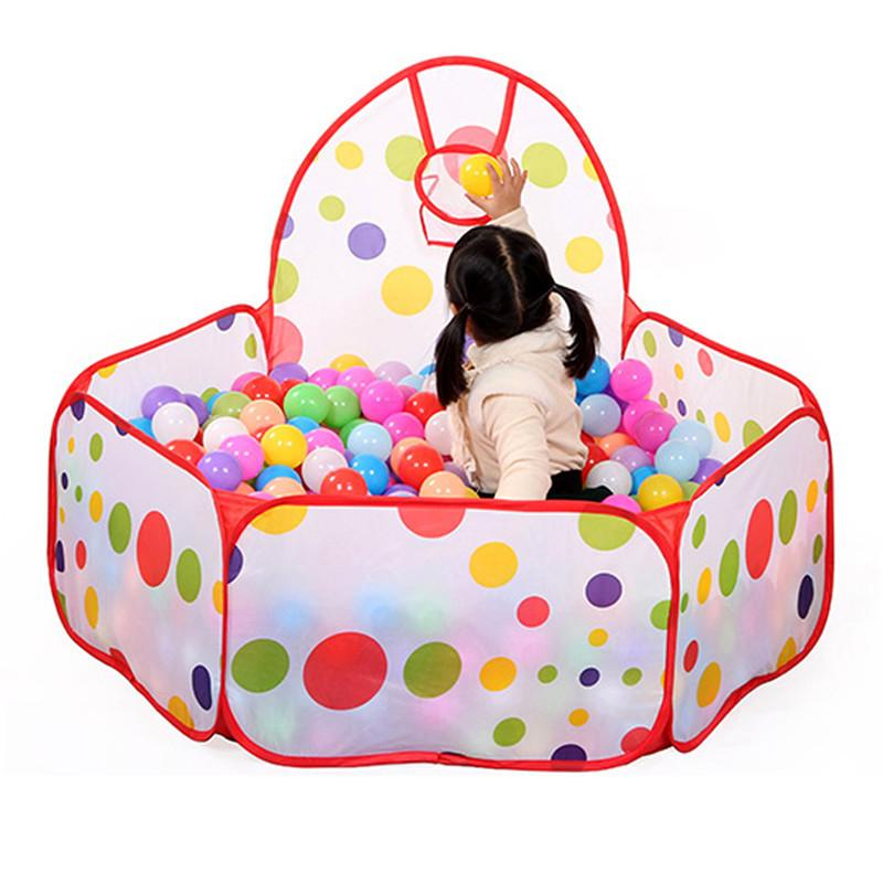 Ball Pit with Hoop (balls sold separately)