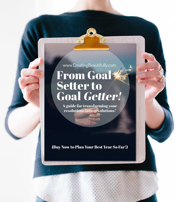 From Goal Setter to Goal Getter: 4 Steps to Setting and Achieving Your Creative Business Goals (Ebook & Bonus Calendar)