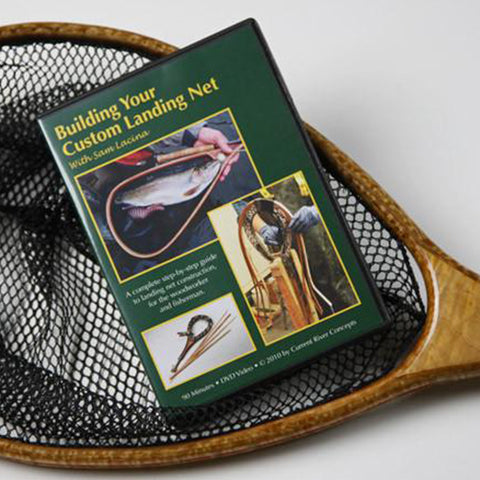 For Landing Net Makers and Woodworkers
