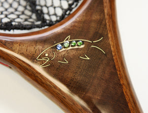 3c: Inlays and art for a Custom Landing Net