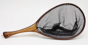 Medium sized Fly Fishing Landing Net: Spalted Maple and Walnut