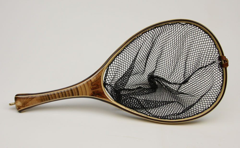Medium sized Landing Net : Bamboo and beauty.