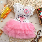 Delightful Hello Kitty Dress with Frilly Tutu
