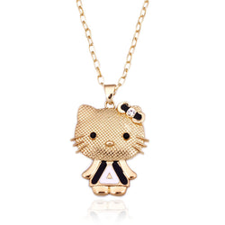 Darling Gold Plated Hello Kitty pendant Necklace