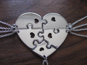 Five Piece Heart Necklace