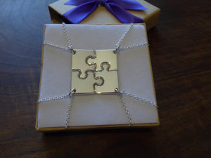 Four Piece Necklace Puzzle