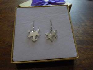 Dangly Puzzle Earrings