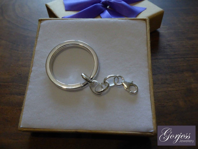 Sterling Silver Keyring Attachment