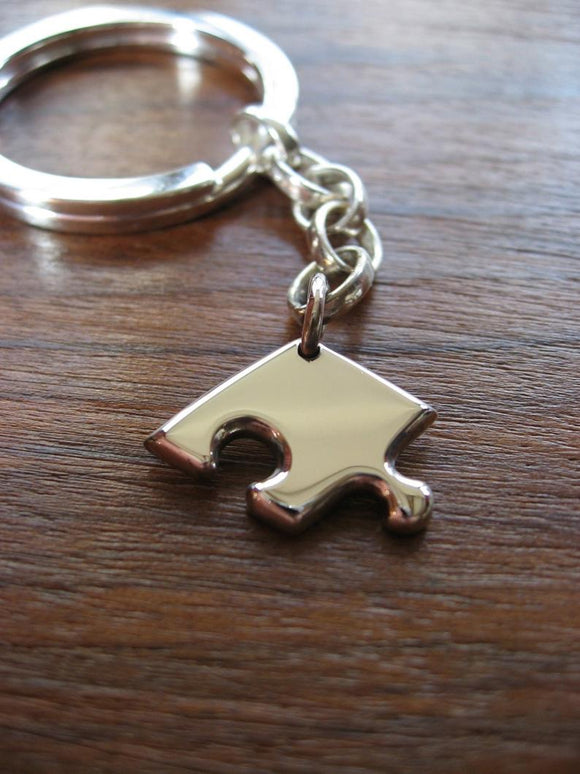 Autism Awareness Puzzle Keyring