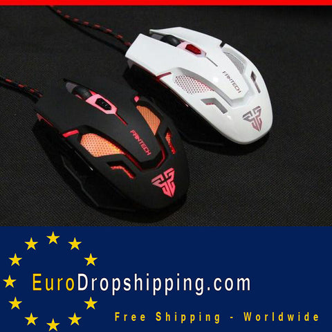 Gamer Mouse 3200DPI 6 Buttons LED Optical USB Wired