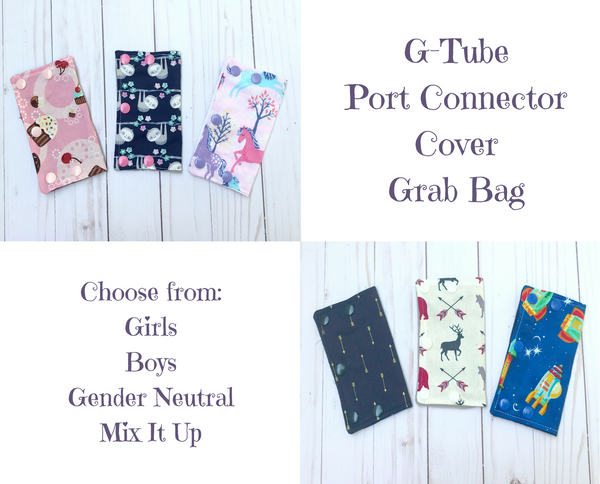 G-Tube Pads & Port Covers