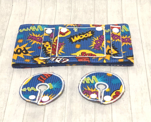 Superhero tubie belt - Lil' Bayou Boutique